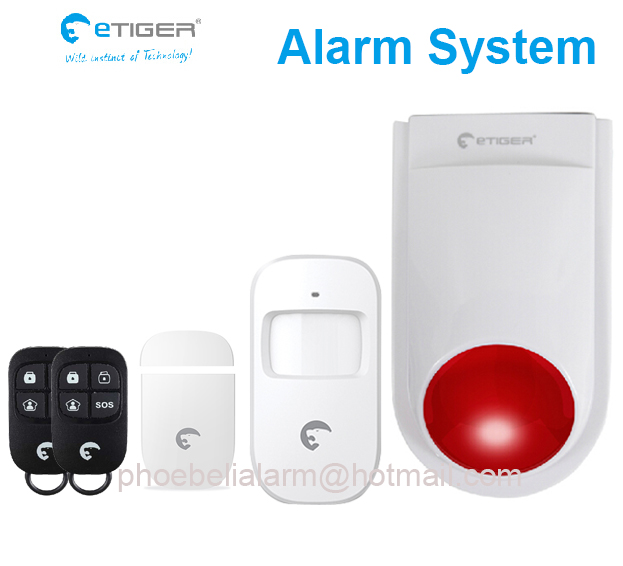 Independent small on-site alarm alert system for shop store(China (Mainland))