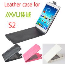 Free shipping Jiayu S2 Case cover PU Flip case cover for Jiayu s2 cellphone