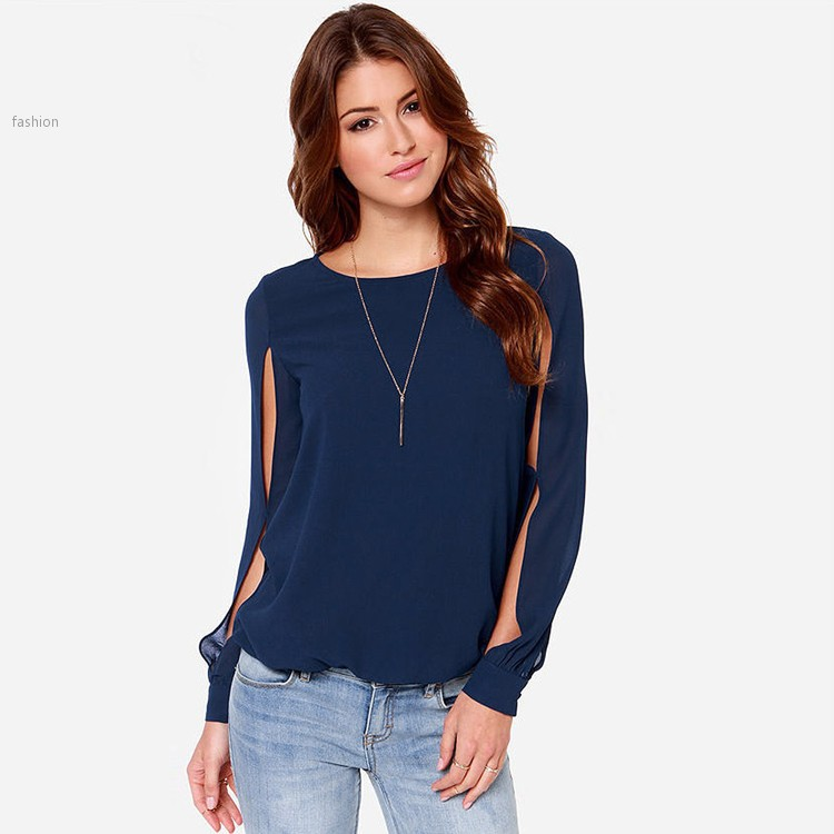 Plus Size 3XL 2015 Blusas Femininas Shirts Women Chiffon ...