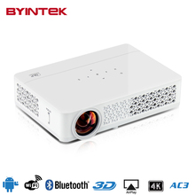 BYINTEK MD321 4K android OS Wifi Bluetooth 1080P HD Home Theater digital 3D HDMI LED Projector Proyector Projetor Beamer(China (Mainland))