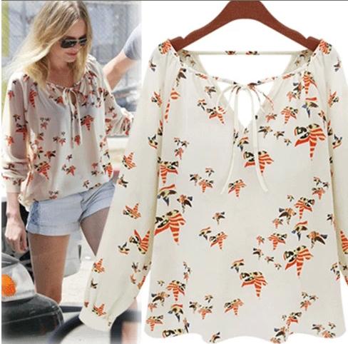Женские блузки и Рубашки New brand animais v/blusa frio bl0005 женские блузки и рубашки v blusa cs7457