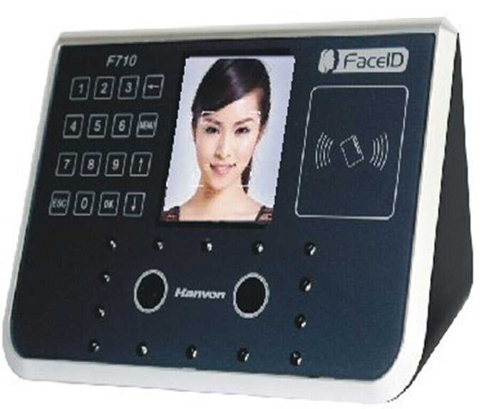 Free Shipping , Hotsales Hanvon facial Recognization + RFID Time Attendance Access Control lFace F710(China (Mainland))