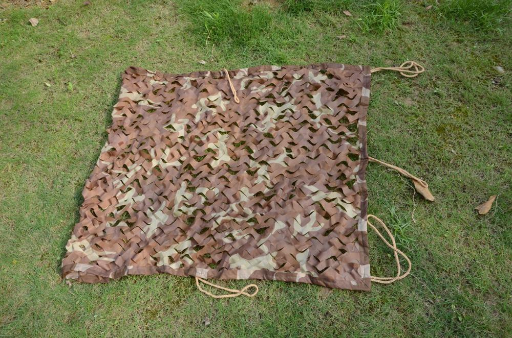 3M*5M desert camouflage netting hunting camouflage net camo net for hunting tent Free shipping(China (Mainland))