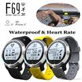 UWatch Hot Fashional Smart Watch F69 Heart Rate Monitor Fitness Tracker Bluetooth Smart Wristwatch for Android