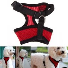 Fashion Dog Harness Soft Air Nylon Mesh Pet Harness Dog Cloth Dog Vest MTY3(China (Mainland))