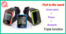 "2013 new Wime nano smart bluetooth watch mobile phone 1.54"" touch screen mp4 music smartwatch single SIM card 300MAH(China (Mainland))"