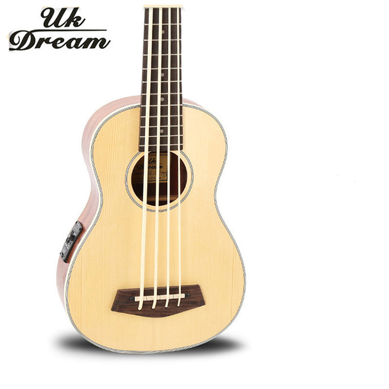 Guitarra Electrica Wooden Guitar Musical Instruments Professional 30-inch Spruce Mahogany U Bass Ukulele Small Guitar New UB-513(China (Mainland))