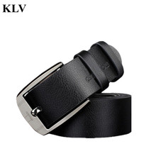 Buy New Men Metal Buckle Leather Waistband Vintage Classic Pin Buckle Belts Male Waist Strap Alloy Buckle Belt Se16 for $4.13 in AliExpress store