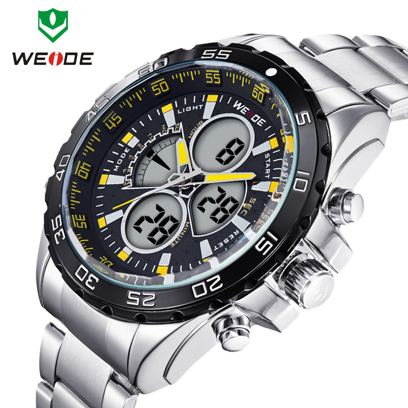 Men Sports Digital Watches Casual Fashion Quartz Watch Movement Electronic 30 Meters Waterproof Wristwatch - GuangZhou Hao-Hao Trading Co.,Ltd store