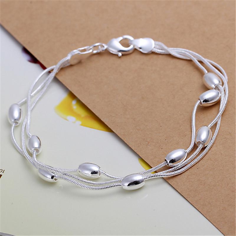 Гаджет  Big Sale 925 Silver Bracelets For Women Snake Chains Bracelets & Bangles Free Shipping BG083 None Ювелирные изделия и часы