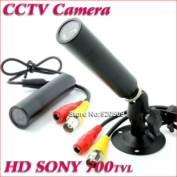 Free Shipping Genuine Sony 960H Effio-E 700TVL Waterproof Micro Hidden Video Surveillance Small Bullet Mini Security CCTV Camera(China (Mainland))