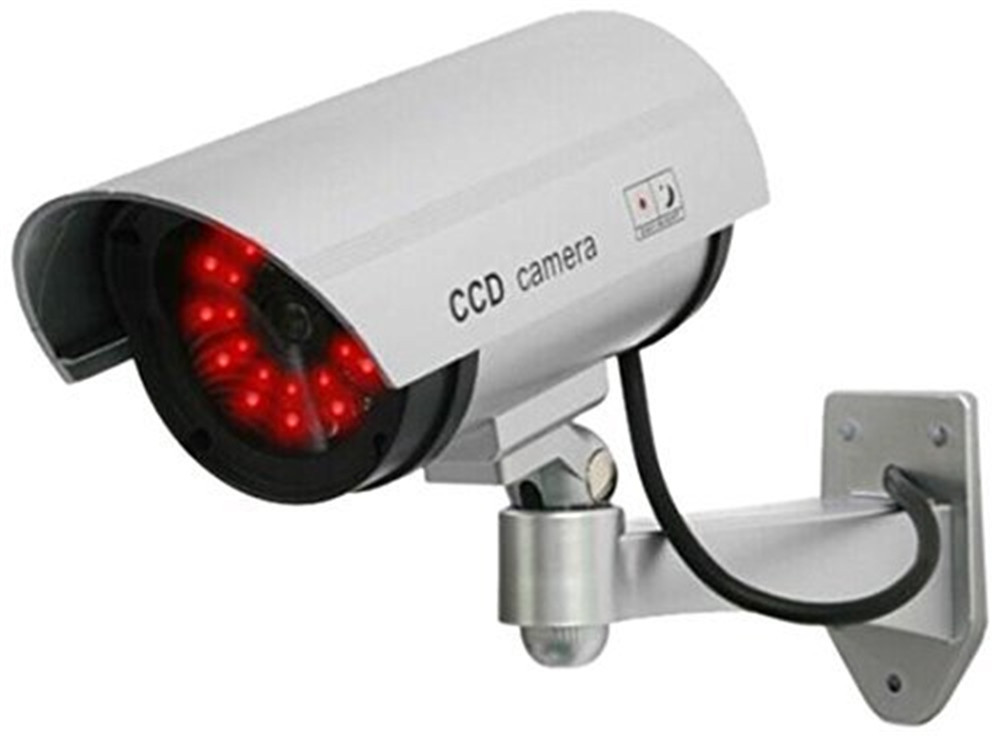 Outdoor Fake , Dummy Security Camera with Blinking Light ...