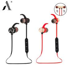 AmericaMande BT31 Magnetic sports wireless bluetooth 4.1 headphones stereo earphones headset AptX with Mic calls music earbuds(China (Mainland))