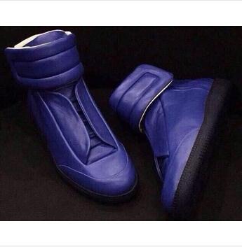 2015 fashion sports shoes leather Maison Martin Margiela hip-hop leisure men's shoes(China (Mainland))