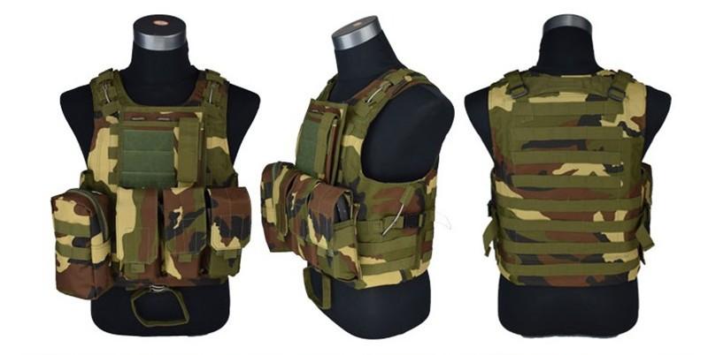 Camouflage Vest CS KNIGHT 23