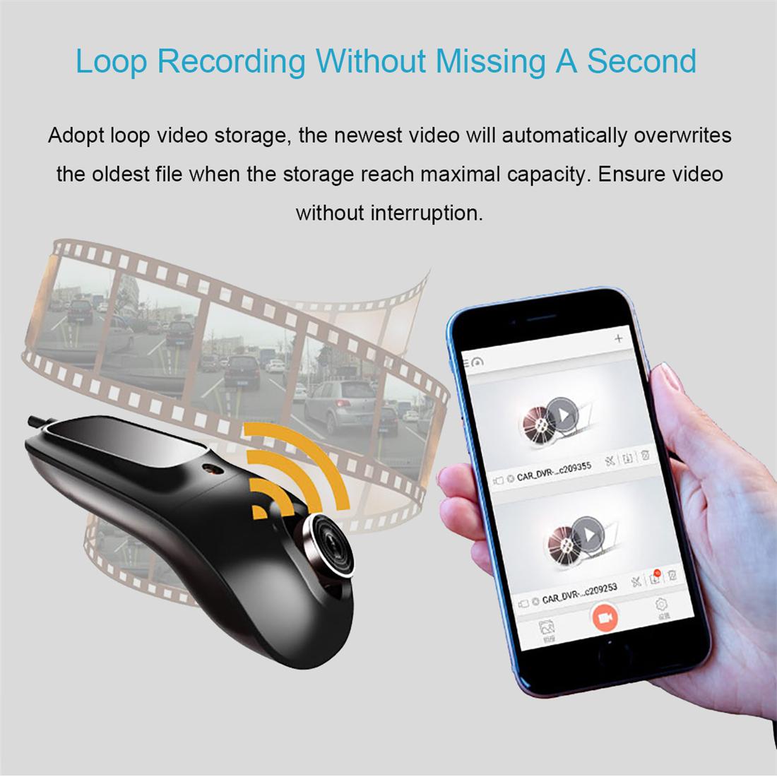 SMALL-EYE Car DVR Registrator Dash Camera Cam Digital Video Recorder Camcorder 1080P Night Vision Novatek 96655 IMX 322 WiFi