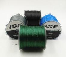 JOF Brand  Super Strong Japan 300m Multifilament PE Braided Fishing Line 10 20 25 30 40 50 60 80 100LB(China (Mainland))
