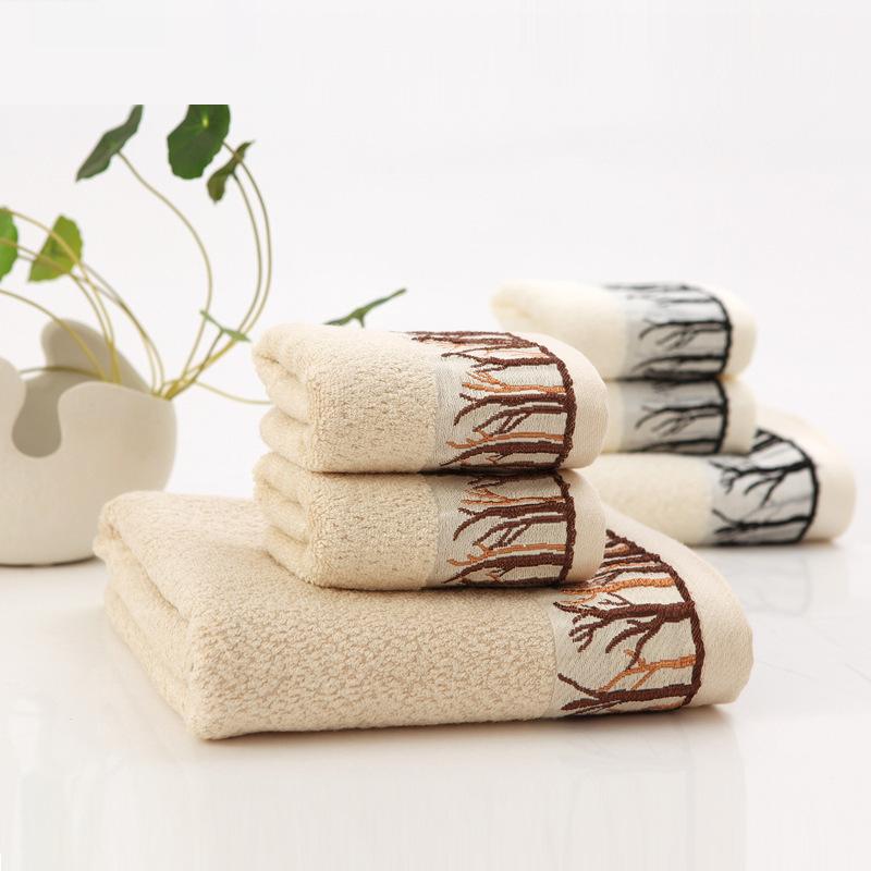 Bamboo Fiber Face Towel Bath Beach Fabric 34cm*72cm / 70cm*140cm Fitness High Quality Bathroom Hand Towels Piece Set Wholesale(China (Mainland))