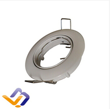 Ceiling spot light aluminium body double ring without lamp source /Single Rotation /GU10 lamp socket White Color Cover(China (Mainland))