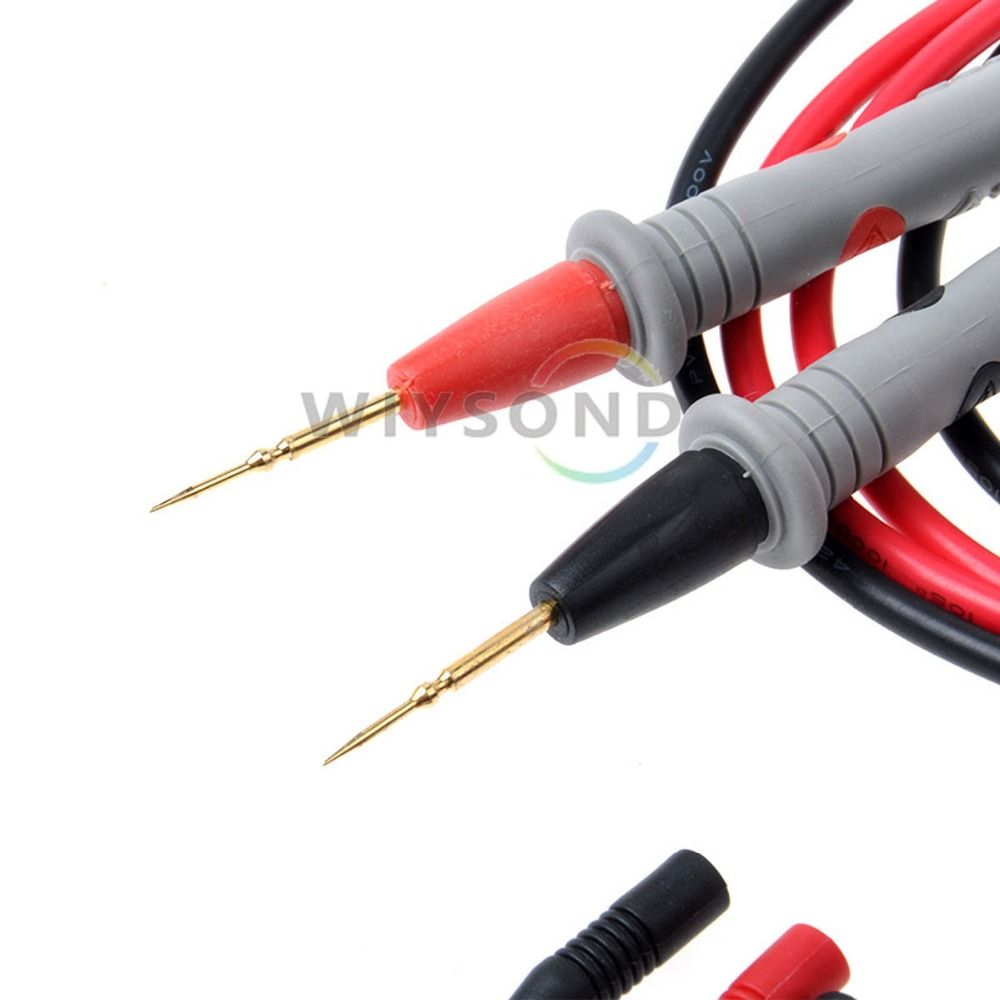 M007-1 1000V 20A Needle Point Multi Meter test probe / lead for digital multimeter for tester such fluke etc. FREE SHIPPING(China (Mainland))
