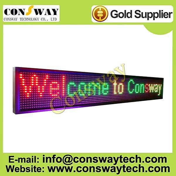 "DHL free shipping, outdoor led advertising screen, moving board with RGY color and size 13""*83.4""(China (Mainland))"