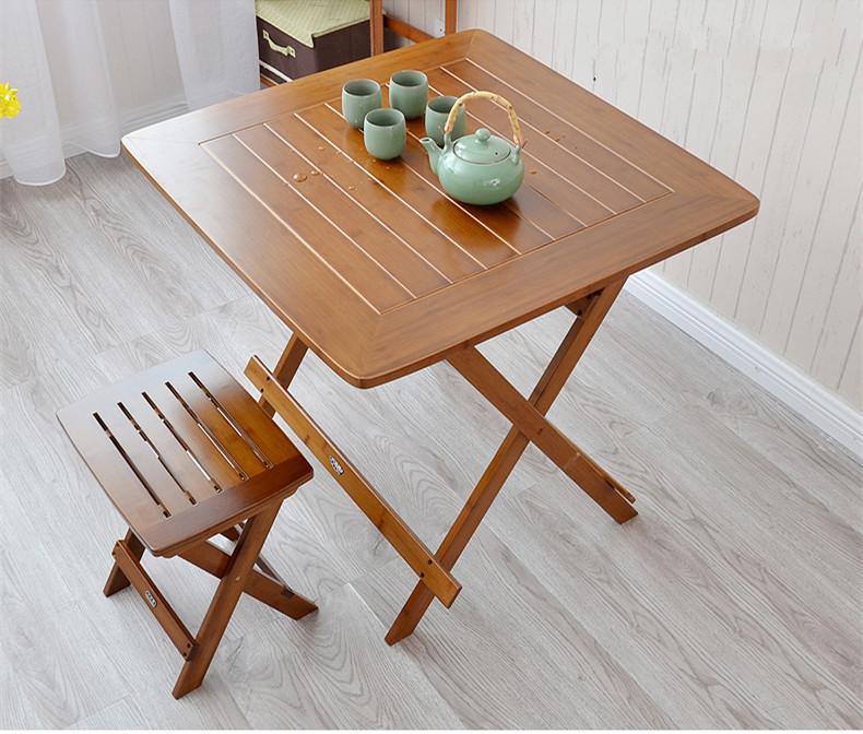 Commentaires meubles en bambou l 39 int rieur faire des achats en ligne - Table a manger pliable ...