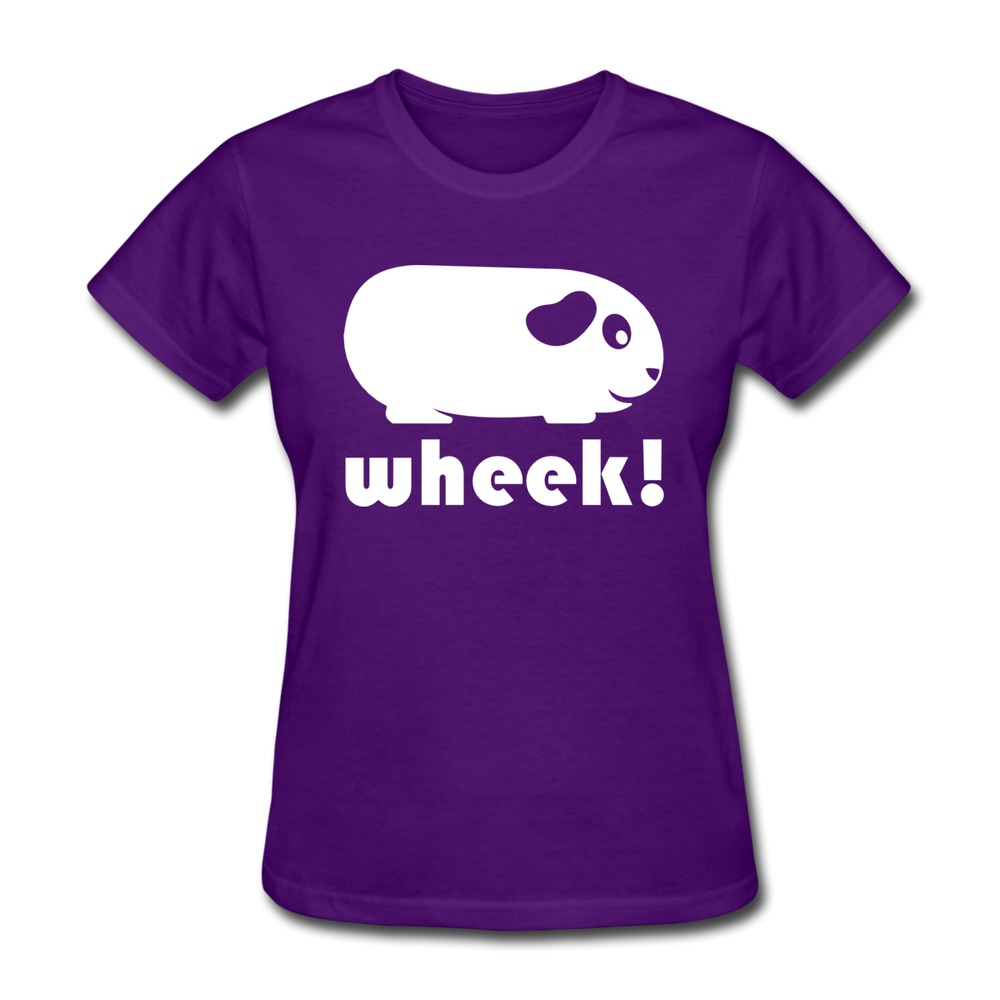 regular women tee shirt simple guinea pig customized jokes