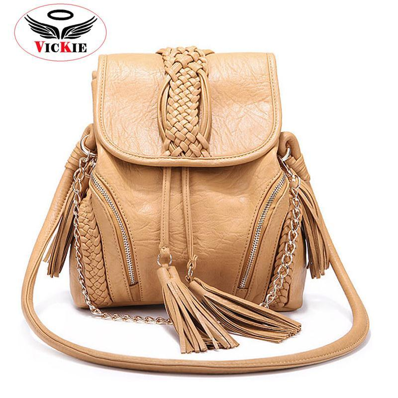 Noble Imported Leather Women Shoulder Bags Chains Lady Messenger Crossbody Bag Bucket Bag Fashion Tassel Handbag Bolsos Sac HS48(China (Mainland))