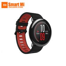 Черный Красный AMAZFIT Xiaomi Huami Умные Спортивные Часы Циркониевой Керамики 1.34 дюймов Спорт Bluetooth Музыка Запуска IP67 Водонепроницаемый 280 мАч(China (Mainland))