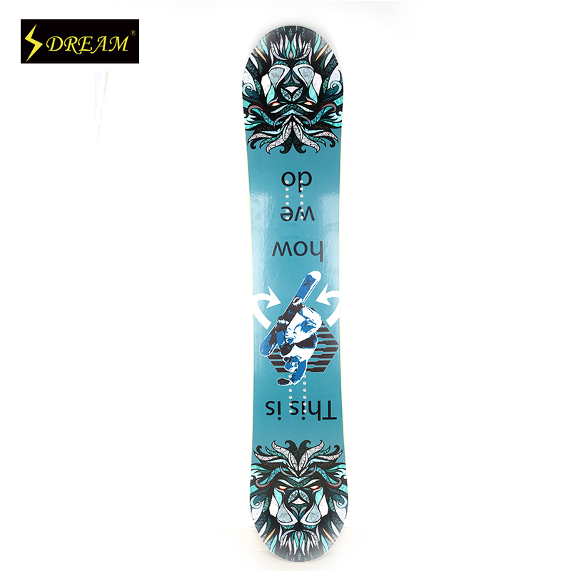 Customizable Freestyle Adult's Snowboards Poplar Core Wood With Carbon Fiber P-TEX Base Skiing Boards Freeride All Mountain(China (Mainland))