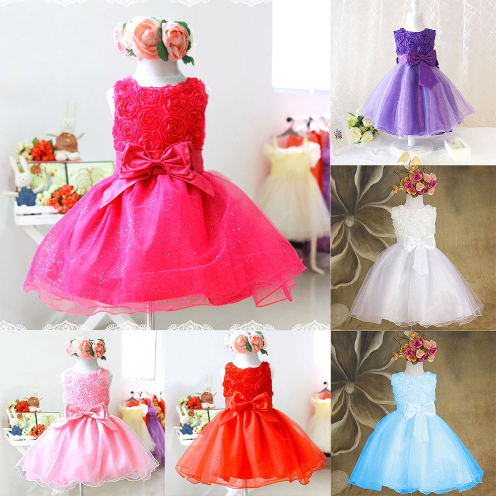 new 1 piece only-high quality Girls dress for baby children Purple pink roses chiffon princess dresses, kid princess(China (Mainland))