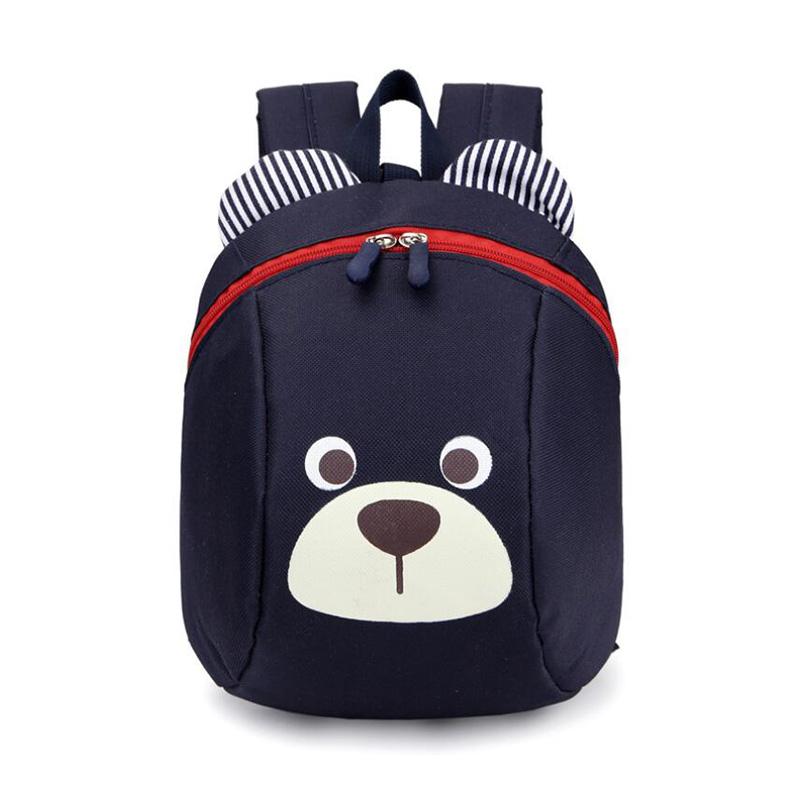 NEW Cute Little Bear Children's Backpack Lovely cartoon animal School Bags For Boys Girls kindergarten bag baby bags 4 colors(China (Mainland))
