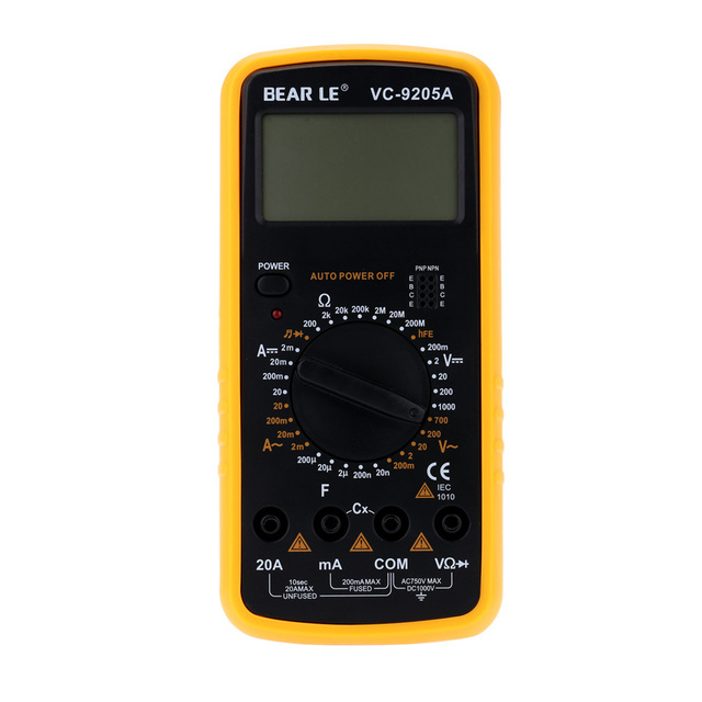 Freeshipping,DT9025A AC/DC, Digital Professional Electric Handheld Tester Meter Digital Multimeter, dropshipping