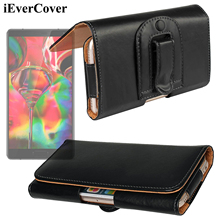 Buy Horizontal Leather Case Pouch Bag Holster Cover w/ Belt Clip Lenovo A6600, Plus, Vibe P1M S1 K5 C2 / K6 Power, Lemon 3 for $10.17 in AliExpress store