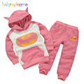 babzapleume Brand Spring Autumn 0-7T Kids Girls Clothes Long Sleeve Tops+Skirt 2PCS/Set Girls Tracksuit Children Clothing BC1317
