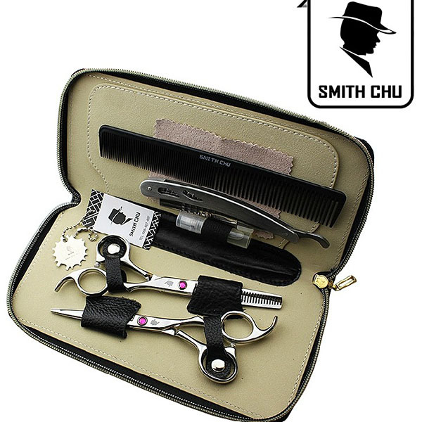 Hot Sale!Smith Chu 5.5 in. Professional Classics Hair Scissors set ,Straight &amp; Thinning barber shears free shipping<br><br>Aliexpress
