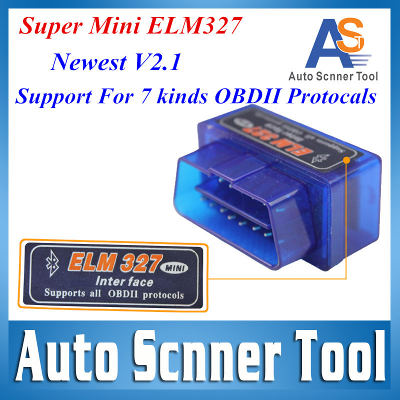 2015 New Arrival Super MINI ELM327 OBD2 V2.1 Software Professional Diagnostic Tool Elm 327 Bluetooth obd ii Free Shipping(China (Mainland))