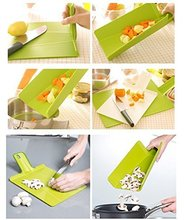 Kitchen Foldable Chopping Block Creative Non-slip Folding Cutting Board Portable Camping Outdoor Chopping Board Cooking Mat Tool
