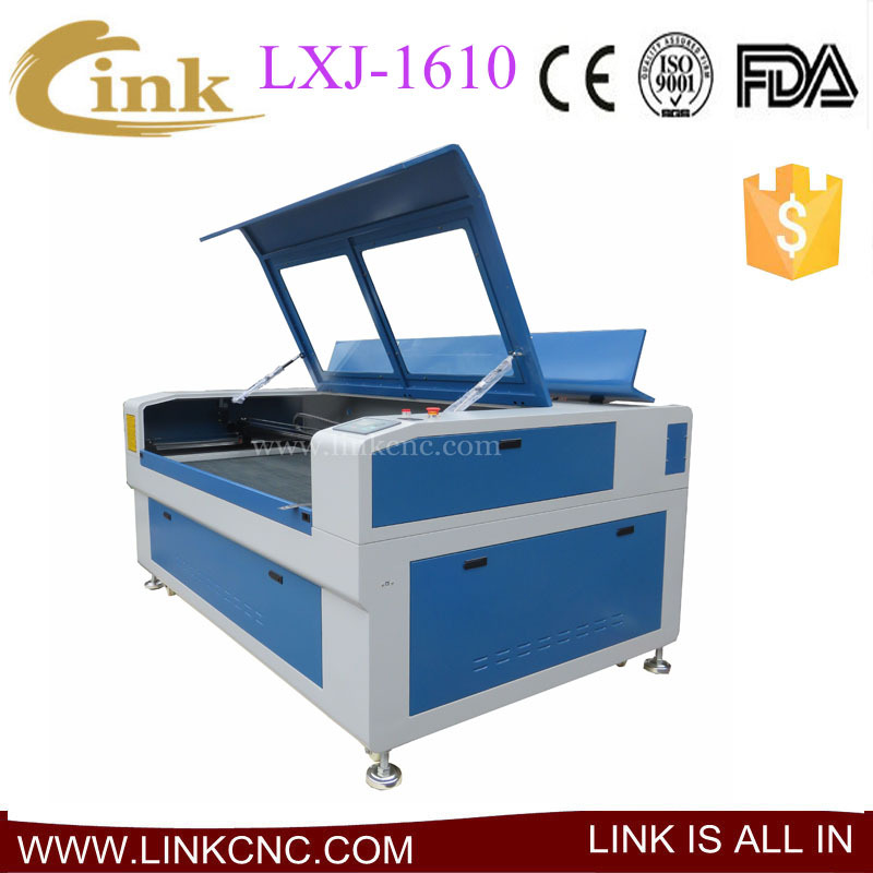 1610 laser machine + 150 co2 reci laser tube + red light pointer + better price and better service(China (Mainland))