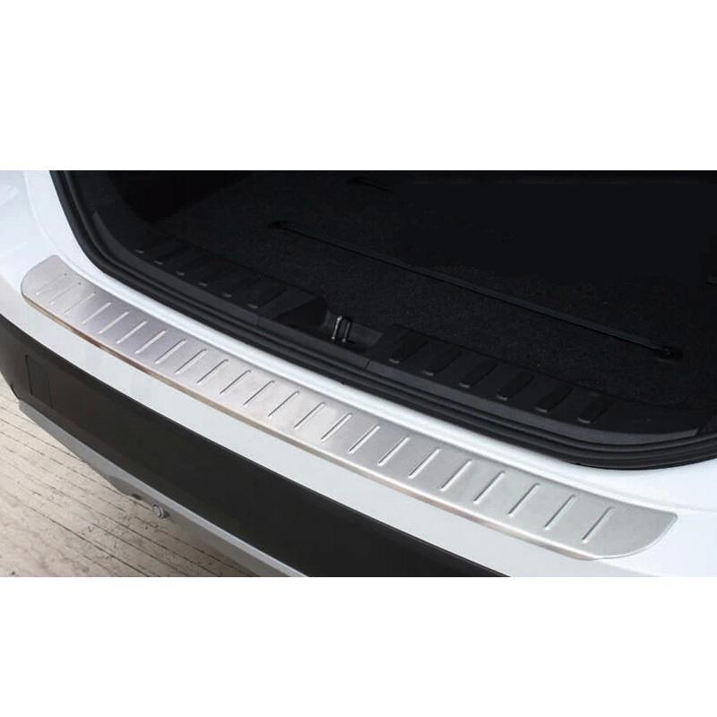 steel Rear Bumper Protector sill plate cover trim for BMW X5 E70 2008-2013<br><br>Aliexpress