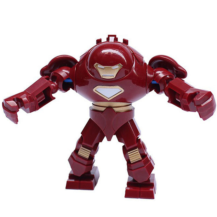 hot single sale Star wars Marvel Avengers Super Hero Iron man hulkbuster armor figures Toys building blocks sets gift toy - yoyo DIY-store store