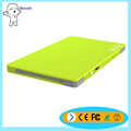 High charger speed portable mobile power bank slim cellphone charger 4000mah