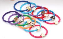 10 X Cute Kawaii Fashion Women Girl Elastic Hair Rubber Band Rope Scrunchie Ponytail Holder Hair