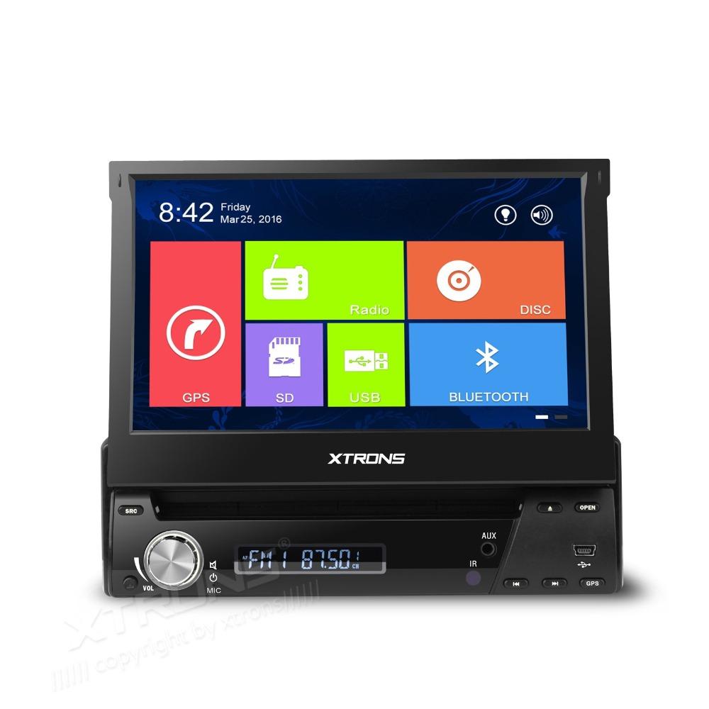 "7"" Win8 Metro-style User Interface One Din Car DVD 1 Din Car Radio Single Din Car GPS with Motorized Screen & Face Panel Design(China (Mainland))"