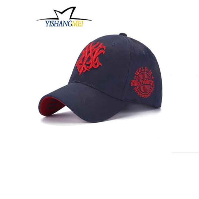 2016New Arrivals CottonThe embroidery Gorras Baseball Cap Adjuatable Mens Baseball Caps Brand New For Adult(China (Mainland))