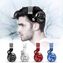 Buy Bluedio T2+ Bluetooth Headphones Bass Stereo Wireless Earphones Headphone Microphone Headset Support FM Radio TF Card for $34.22 in AliExpress store