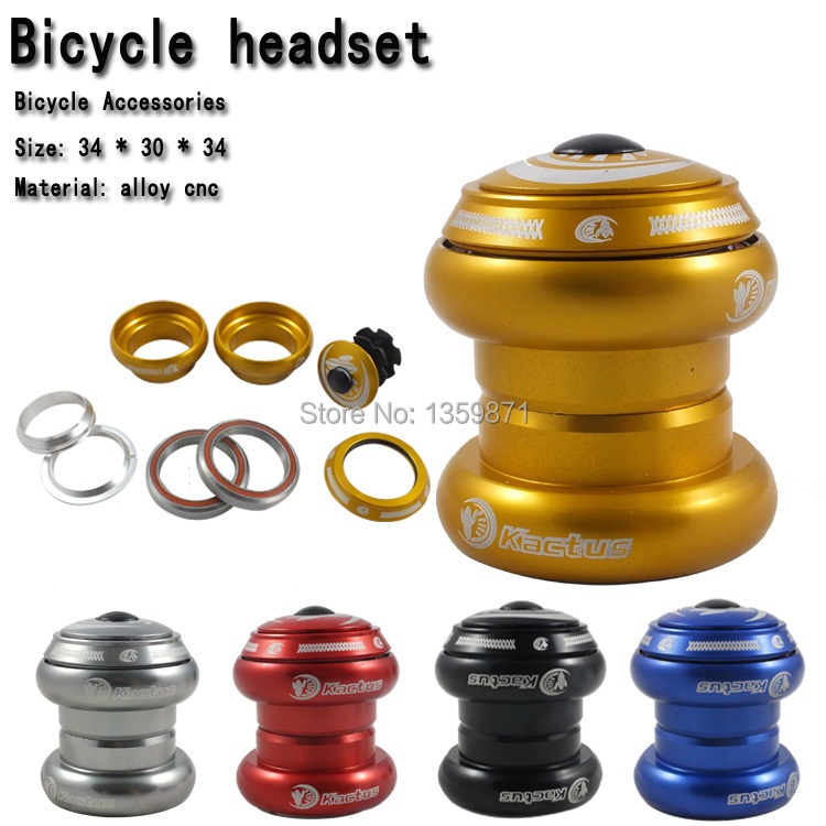 ROAD 34 * 30 * 34mm alloy CNC bicycle headset bearing gold / red / blue / silver / black<br><br>Aliexpress