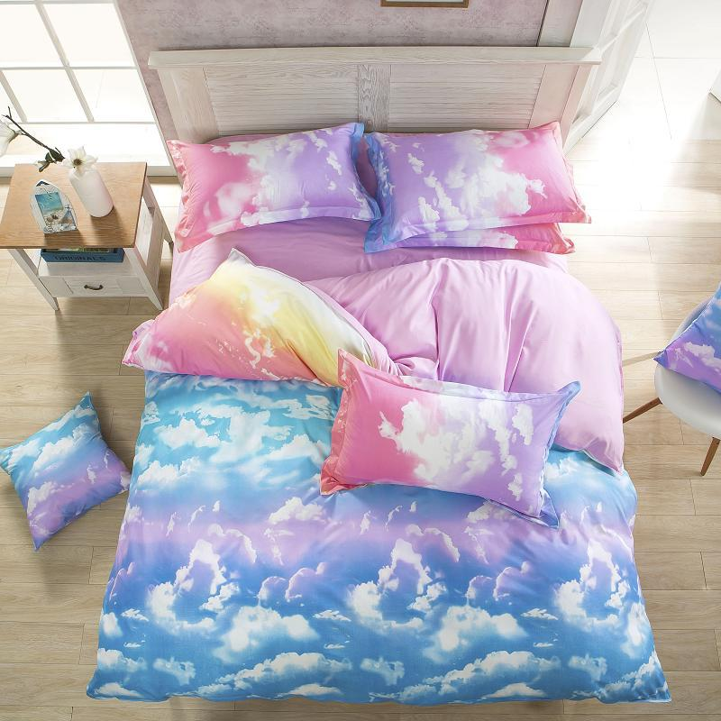 fashion style queen full twin size bed linen set bedding set sale