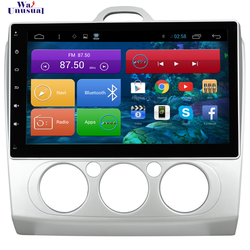 1024*600 Quad Core 10.2 Android 4.4 Car DVD Player for Ford Focus 2 Auto With Bluetooth 16GB Nand Flash Wifi Mirror Link Maps<br><br>Aliexpress