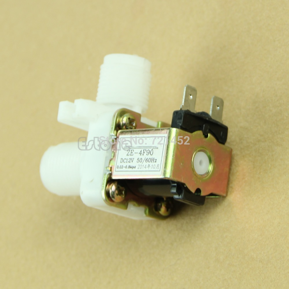 """J35 Free Shipping DC 12V Electric Solenoid Valve Magnetic N/C Water Air Inlet Flow Switch 1/2""""(China (Mainland))"""